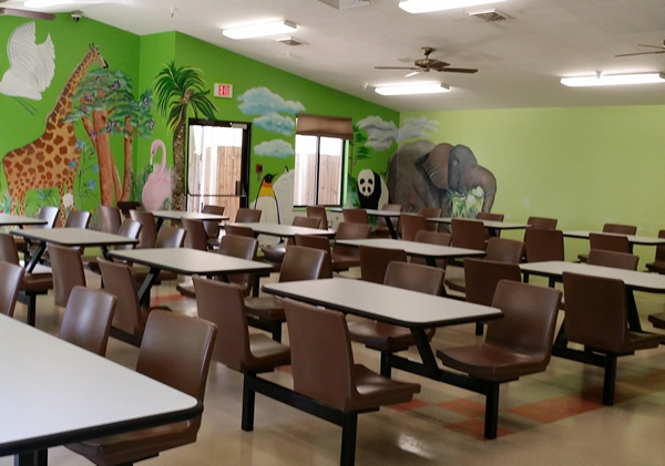 Safari Lunchroom Intensive Use Furniture - Real Time Furniture